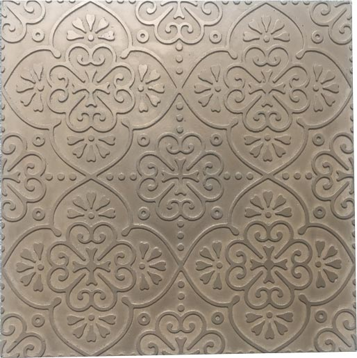 BOHO One wall tile in Bronze, by Hazell & Gray